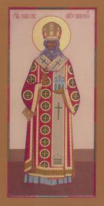 Рукописная икона Симеон Смоленский купить с доставкой