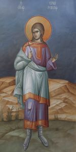 Рукописная икона Смарагд Севастийский купить с доставкой