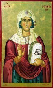 Рукописная икона Соломония купить с доставкой