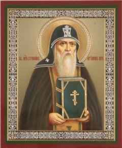 Рукописная икона Стефан Печерский купить с доставкой