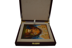 Кожаный футляр под рукописную икону купить с доставкой