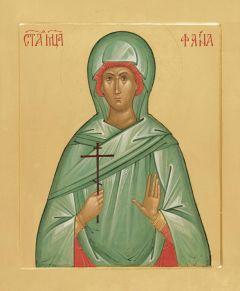 Рукописная икона Фаина купить с доставкой