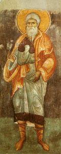 Рукописная икона Фарес Праотец купить с доставкой