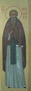Рукописная икона Феодор Борисоглебский купить с доставкой