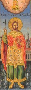 Рукописная икона Феодор Византийский купить с доставкой