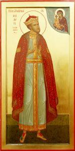 Рукописная икона Феодор Московский купить с доставкой