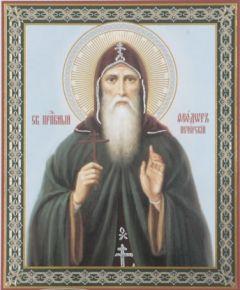 Рукописная икона Феодор Печерский купить с доставкой
