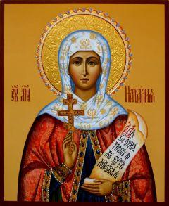 Рукописная икона Наталия Никомидийская купить с доставкой