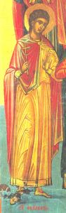 Рукописная икона Феодул Критский купить с доставкой