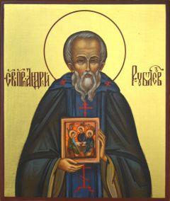 рукописная икона иконописца Андрея Рублёва