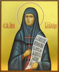 Рукописная икона Анна Благовещенская купить с доставкой