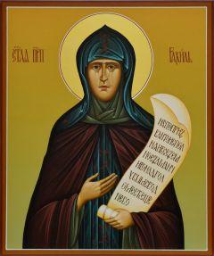 Рукописная икона Рахиль Бородинская, прп. купить с доставкой