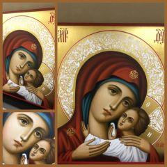 Рукописная Корсунская икона Божией Матери купить с доставкой