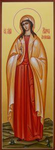 Рукописная икона Марфа Азийская купить с доставкой