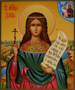 Рукописная икона Дария (Дарья) Римская купить с доставкой