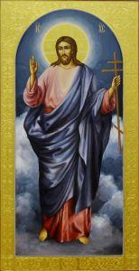 Рукописная икона Спаситель 6 купить с доставкой
