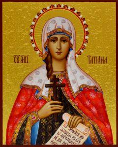 Рукописная икона Татьяна (Татиана) Римская купить с доставкой