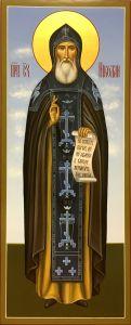 Мерная икона Николай Славянин преподобный