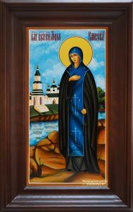 Рукописная икона Анна Кашинская купить с доставкой