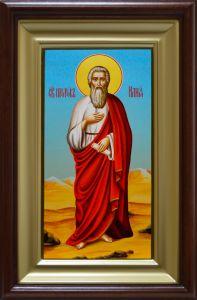 Рукописная икона Илия Пророк живопись 2 купить с доставкой