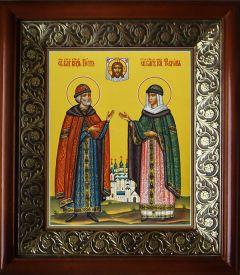 Рукописная икона Петр и Феврония Муромские 41 купить с доставкой
