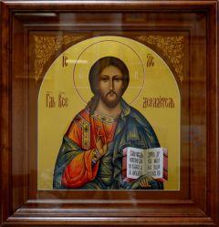 Рукописная икона Спас Вседержитель 7 купить с доставкой