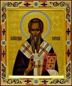 Рукописная икона Андрей Критский