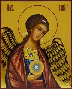 Рукописная икона Ангела-Хранителя купить с доставкой