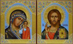 Рукописная Казанская икона Божией Матери купить с доставкой
