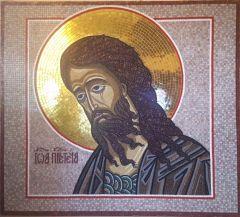 Икона из мозаики Иоанн Предтеча