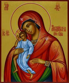 Рукописная икона Молдавская