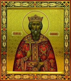 Рукописная икона Владимир Равноапостольный 3