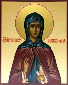 Рукописная икона Пелагея Антиохийская