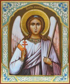 Рукописная икона Ангел Хранитель 14