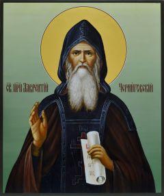 Рукописная икона Лаврентий Черниговский 2