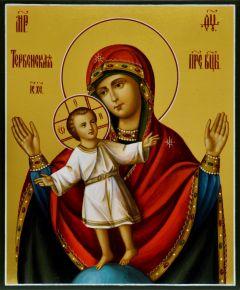 Рукописная икона Божией Матери Тербенская
