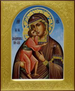 Рукописная Феодоровская икона 3