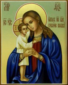 Рукописная икона Взыскание погибших 4