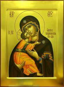 Рукописная Владимирская икона 6