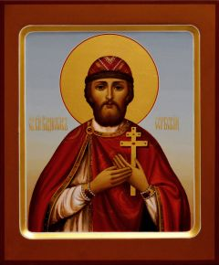 Рукописная икона Владислав Сербский 2