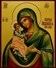 Рукописная икона Мелетинская
