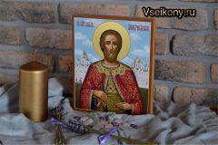 Рукописная икона Дмитрий (Димитрий) Донской 6