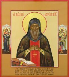 Рукописная икона Святой Анатолий Печерский купить с доставкой