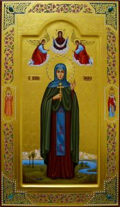 Мерная икона Василиса Василисса Египетская