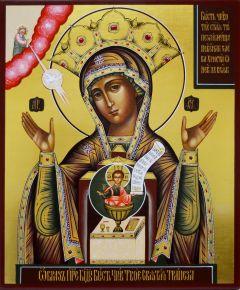Рукописная икона Божией Матери Никейская