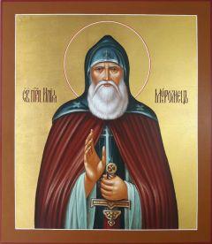 Рукописная икона Илья Илия Муромец 2