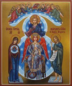 Рукописная икона София Премудрость Божия