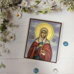 Рукописная икона Ева Праматерь 2