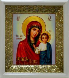 Рукописная Казанская икона масло 8