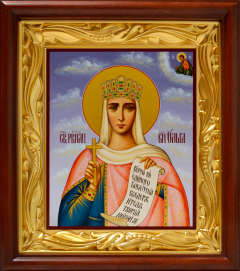 Рукописная икона Ольга Равноапостольная 9
